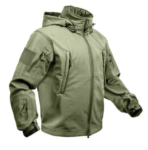 ROTHCO SPECIAL OPS TACTICAL SOFTSHELL JACKET - OLIVE DRAB - L