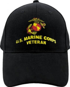 United States Marine Corps Veteran Hat For Men, Collectibles, Marines Insignia
