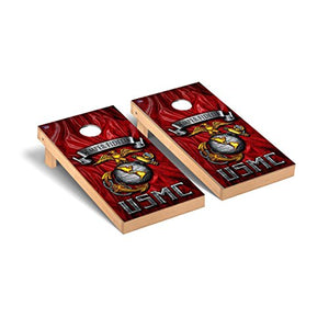 US Marine Corps USMC Semper Fidelis Semper Fi Regulation Cornhole Game Set