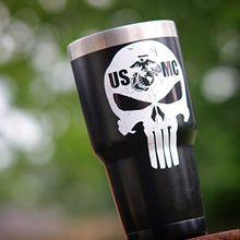 Punisher USMC Gray- Sticker
