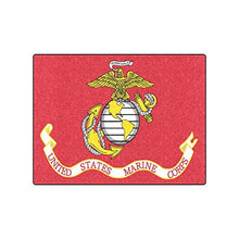 New Year Gifts/Thanksgiving Day USMC United States Marine Corps Warmer Winter Fleece Throw Plush Blanket 50 x 60 inches (Large)