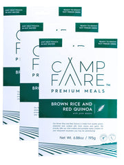 Brown Rice & Red Quinoa With Pink Beans 3 Pack - Campfare