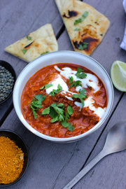 Delicious and ready to eat Chicken Tikka Masala with French Green Lentils. Fully hydrated and not freeze dried or dehydrated. Great camping meal idea for your next camping trip. Easy camping food which is high in quality.