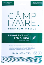 Brown Rice & Red Quinoa With Pink Beans - Campfare