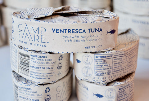 Ventresca Tuna Belly in Olive Oil  - Limited Batch - Campfare