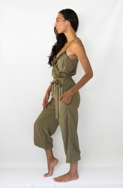 Casey Jumpsuit in Olive