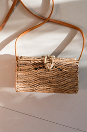 Desa Wicker Purse
