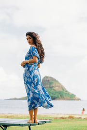 Indah Rose Maxi in Indigo