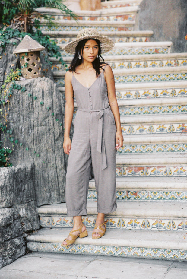 Juj Jumpsuit in Slate - YIREH