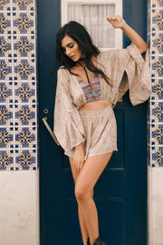 Mudra Playsuit in Moonstone - YIREH