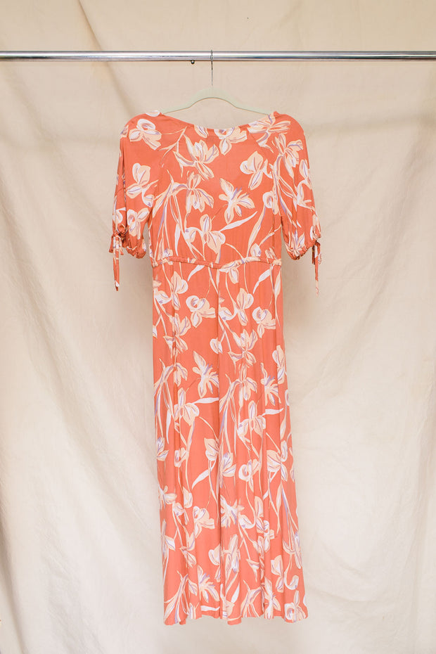 Clementine Dress in Nectarine - Size Extra Small (Seconds Sale #SS222)