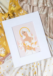 Surprise Indah Rose Maxi + Art Print
