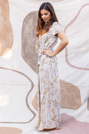 Isabella Wrap Maxi in Antoinette - YIREH