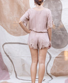 Luna Playsuit in Sand - YIREH