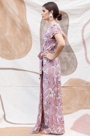 Isabella Wrap Maxi in Lilly