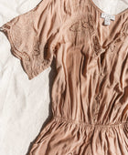 Luna Playsuit in Sand