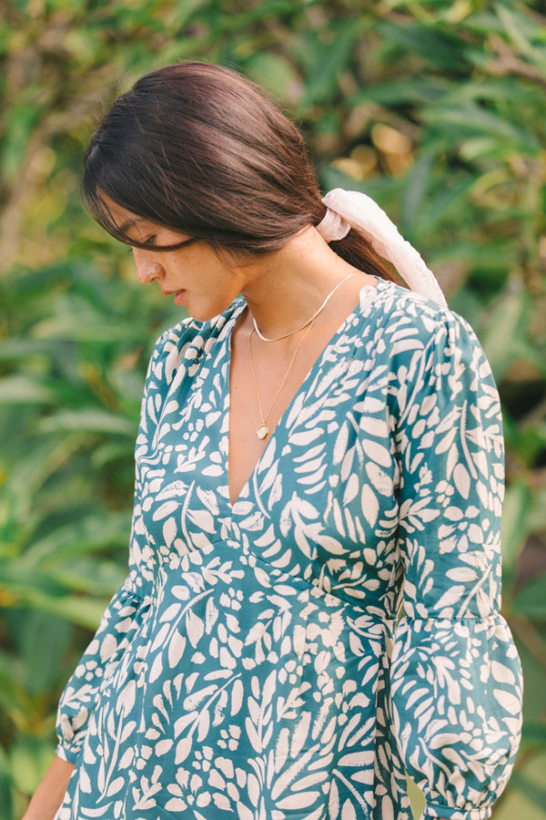 Aster Dress in Fern