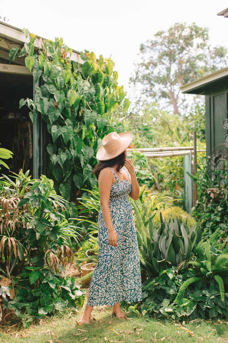 Mila Jumpsuit in Fern