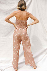 Roya Jumpsuit in Clay
