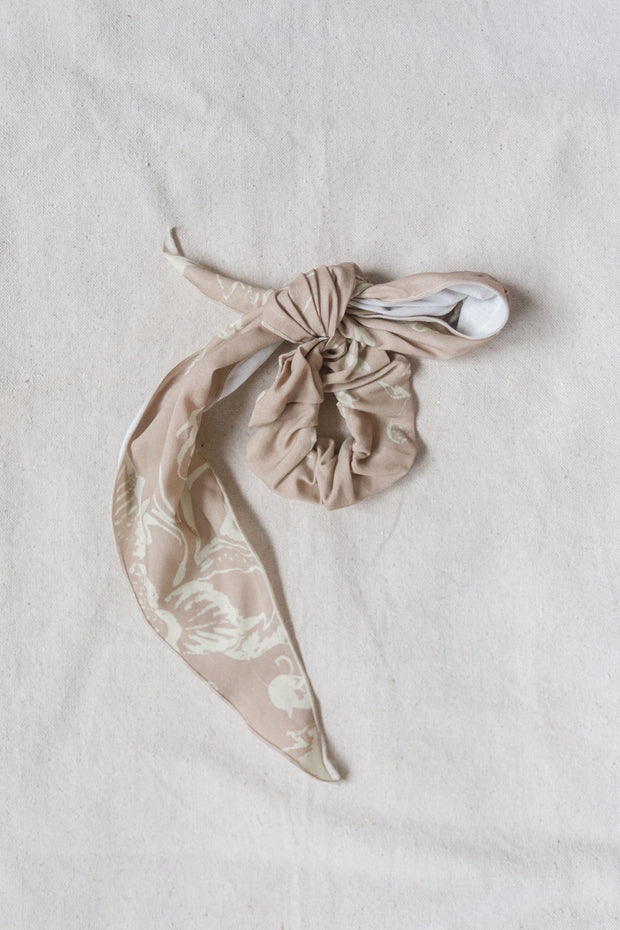 Watercolor Nude Scrunchie