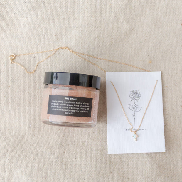 $85 Surprise Self-Care Bundle ft. Oshan Essentials and Elly Rose Jewelry