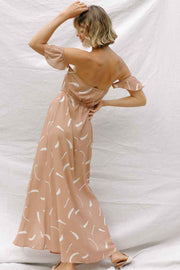 Lina Maxi in Clay