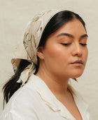 Antoinette Scarf + Watercolor Nude Scrunchie Gift Set