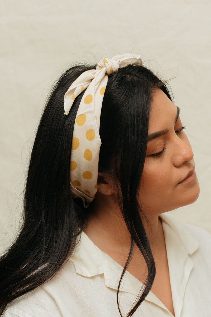 Starfruit Scarf + Honey Scrunchie Gift Set