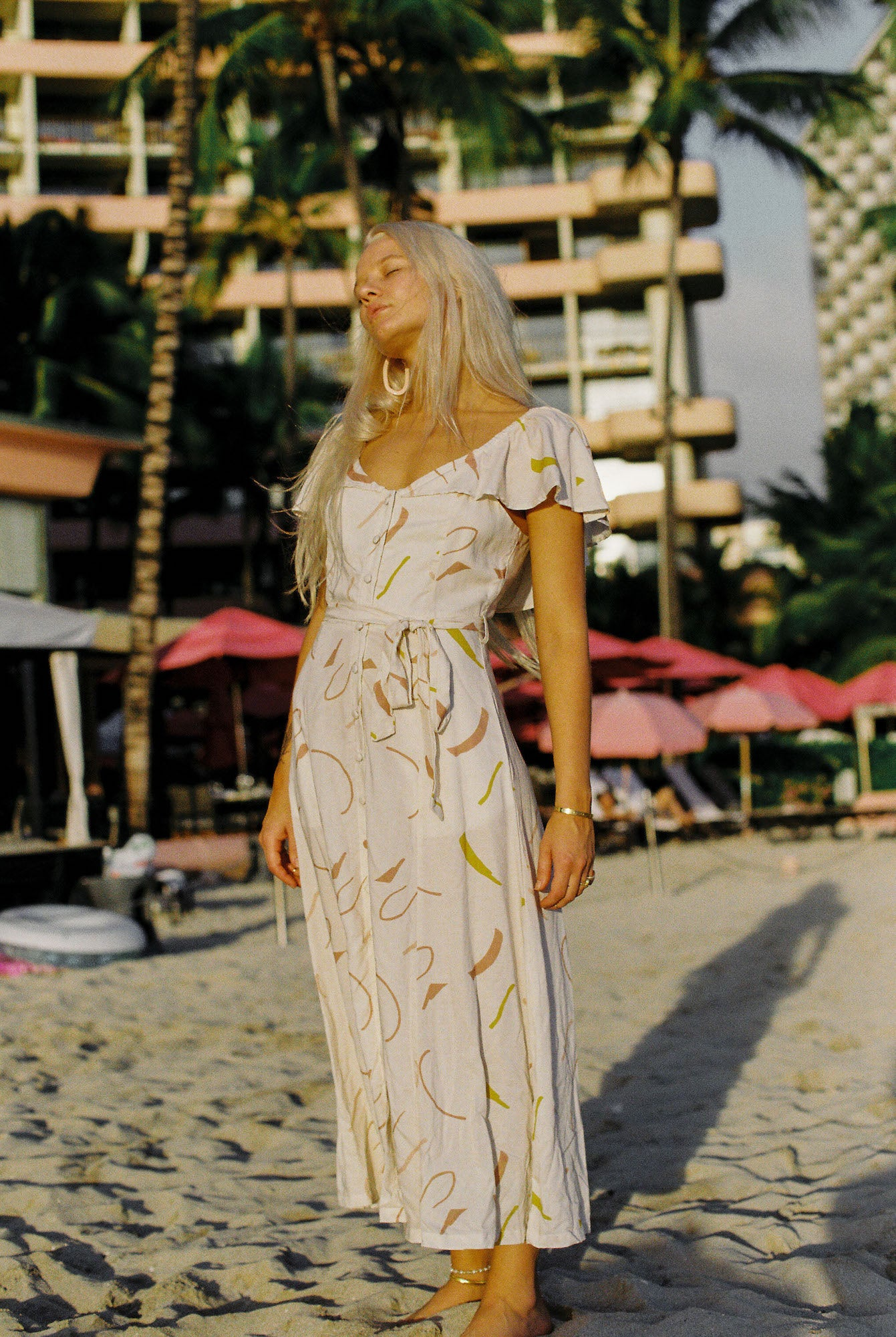 Indah Rose Maxi in Linnea
