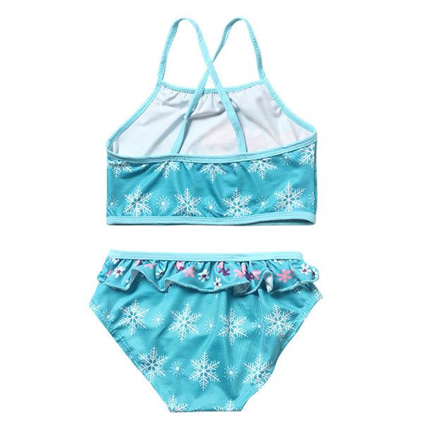 Girls 2pc Bikini Suit Elsa & Anna 2019 Swimsuit