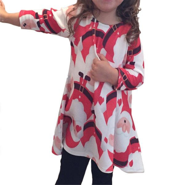 Girls Long Sleeve Dress