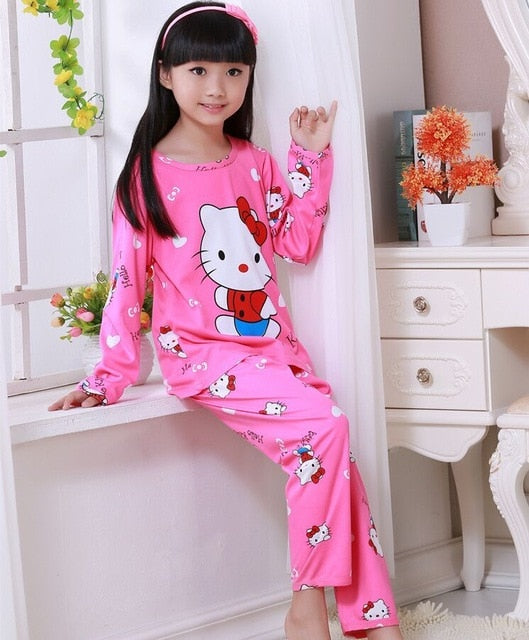Boys & Girls cotton Pajamas ages 3-12