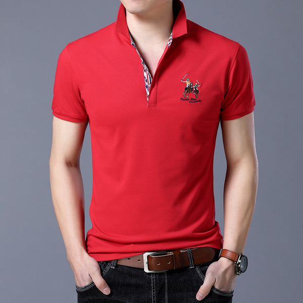 Men's Designer Polo Shirts with Embroidered Design (Polos de diseñador para hombre con diseño bordado)