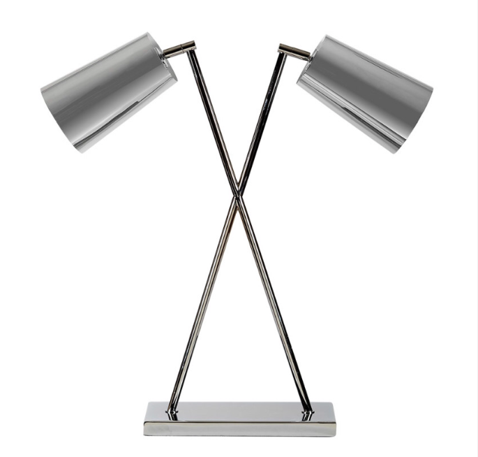 Double arm lamp