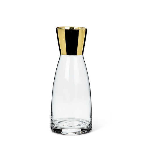 Small Carafe with Metallic Top