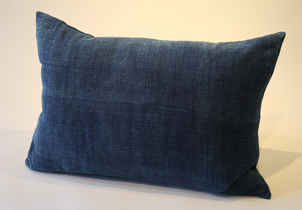 Natural Indigo Dye Pillow Small