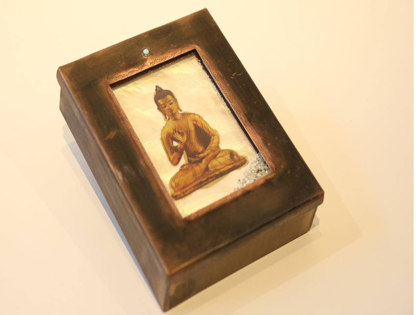 Kinetic Buddha Reliquary Box