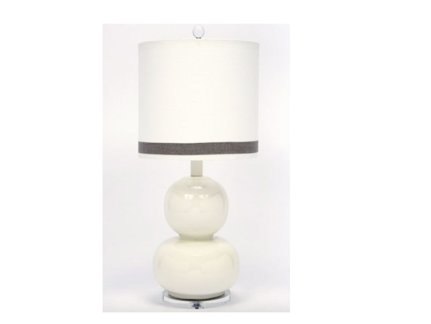 Ceramic Acrylic Tabel Lamp