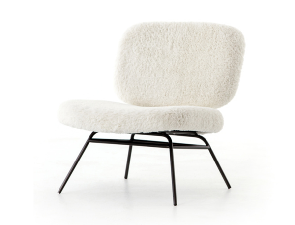 Faux Fur Chair