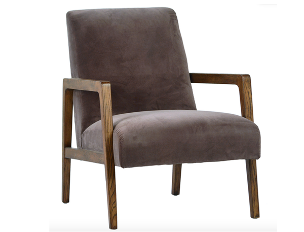 Occasional Chair in Dark Gray