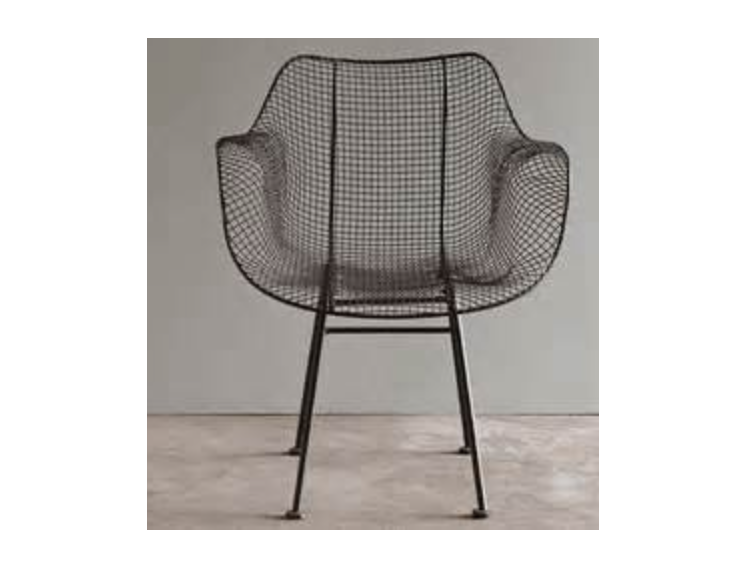 Midcentury Style Metal Chair