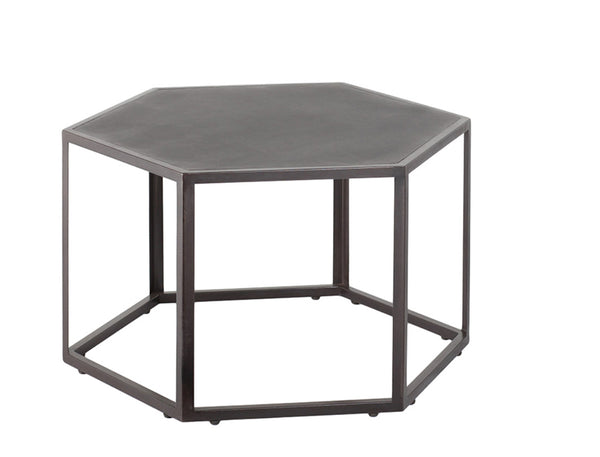 Large Hexagonal Side Table