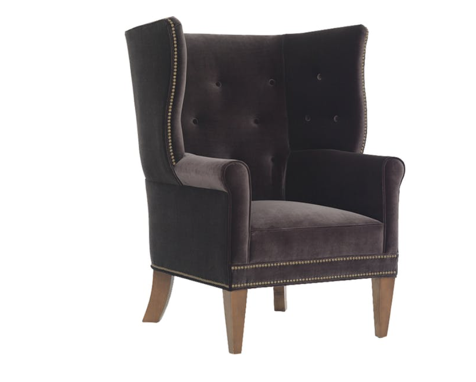 Awe Inspiring Mitchell Gold Bob Williams James Wing Chair Home Interior And Landscaping Oversignezvosmurscom