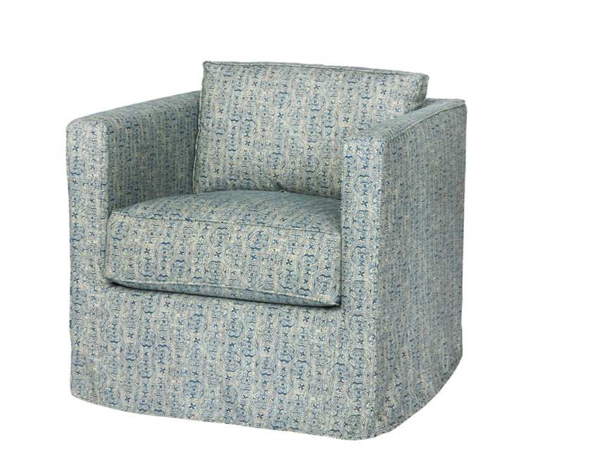 Cisco Brothers Vista Mini Chair Logan Oatmeal