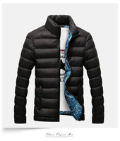Jacket Parkas Casual Style Warm Padded