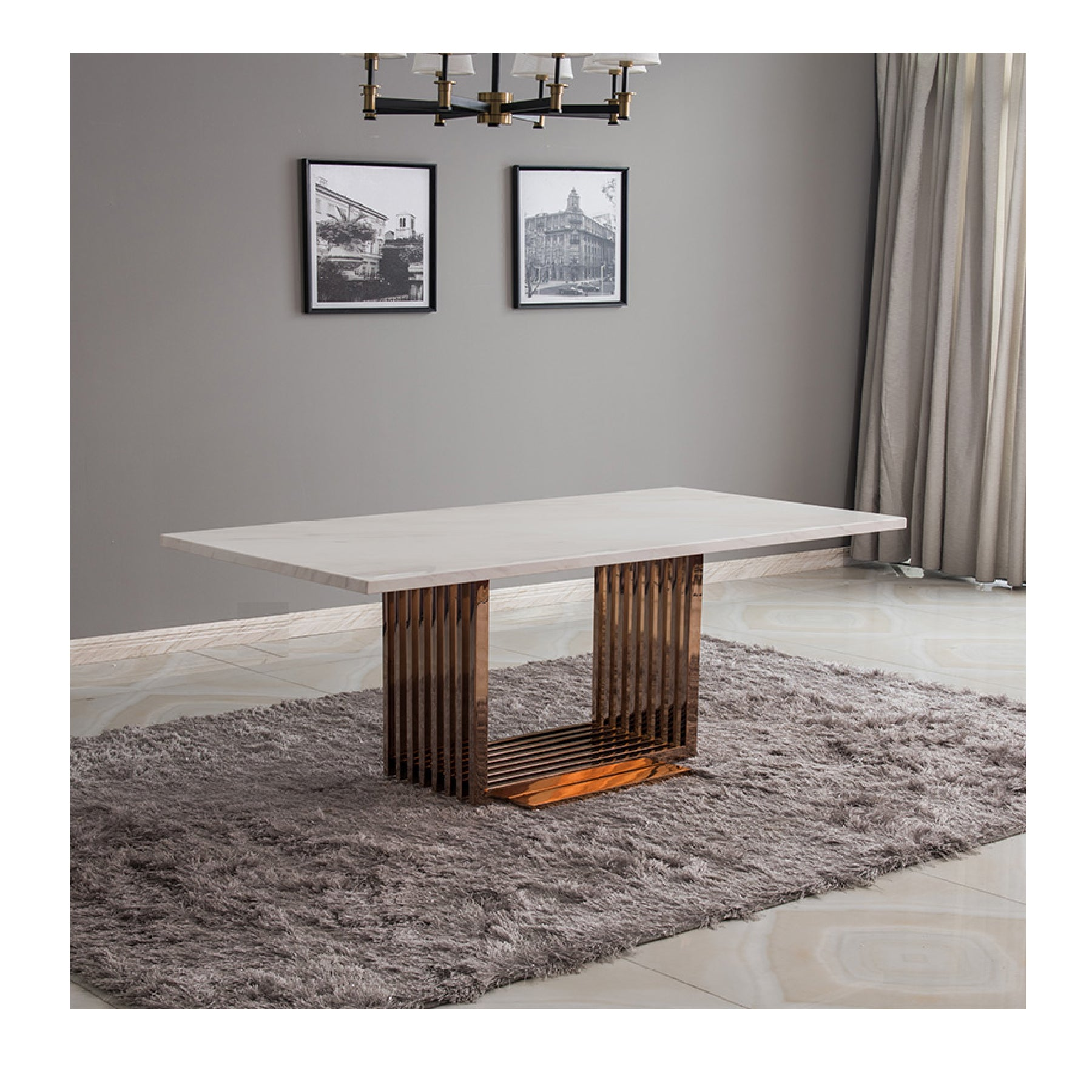 Marble Table MHF005 - mhomefurniture