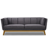 Silver Leave 3 Seater Sofa - mhomefurniture