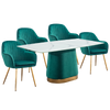 Stella Dining Set A - mhomefurniture