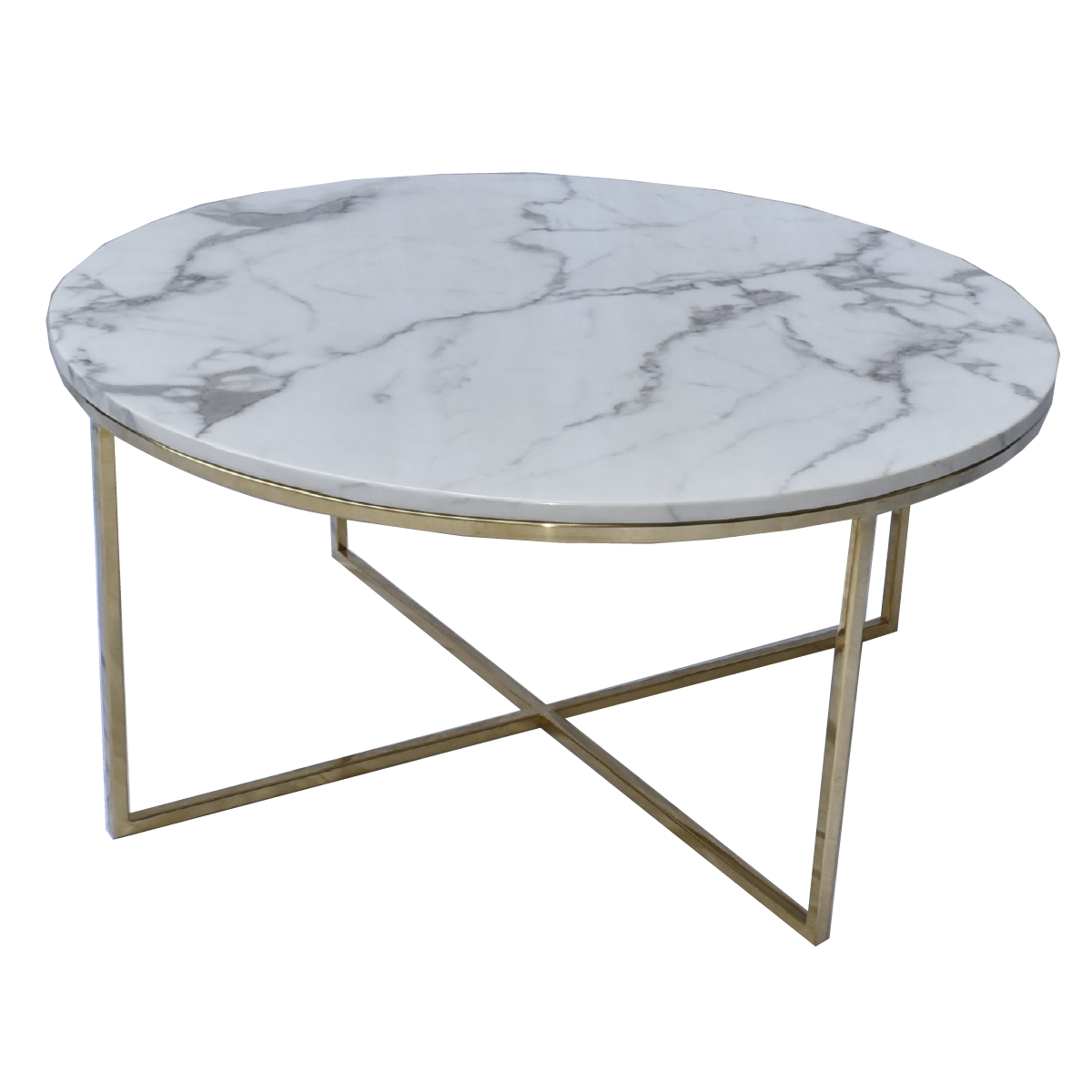 Max Marble Coffee Table Low - mhomefurniture
