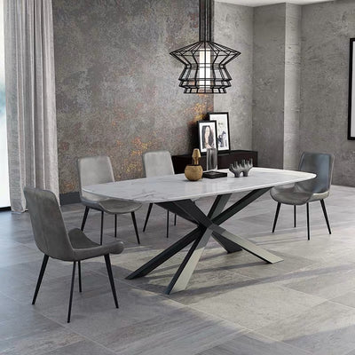 Zoxes Marble Table - mhomefurniture
